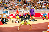 Tero Pitkamaki, winner of the javelin at the IAAF Diamond League meeting in Monaco (Philippe Fitte)
