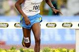 Saif Saaeed Shaheen in the Steeplechase in Brussels (Getty Images)