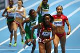 Cassandra Tate in the 4x400m at the 2014 IAAF World Indoor Championships in Sopot (Getty Images)