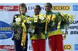 Merima Denboba of Ethiopia in Lausanne (bronze medal) (Getty Images)