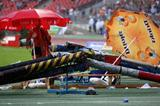A rain soaked second day at 2008 German Champs in Nuremburg (Getty Images)