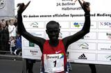 Kirui the winner of the 2004 Berlin Half Marathon (SCC)