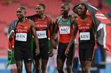 Kenya's victorious 4x400m team at the 2015 All Africa Games (Getty Images / AFP)