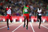 Kirani James in the 400m at the 2014 Commonwealth Games (Getty Images)