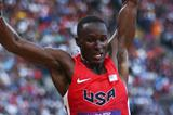 Will Claye of the United States ompetes in the Men's Long Jump qualification on Day 7 of the London 2012 Olympic Games at Olympic Stadium on August 3, 2012 (Getty Images)