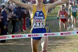 Sergiy Lebid (UKR) wins the 2002 European Cross Country title (Athletics Images)