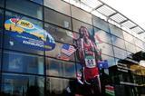 Huge poster of Tadese in Edinburgh (LOC)