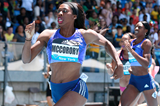 Francena McCorory wins the 400m at the IAAF Diamond League meeting in New York (Victah Sailer)