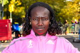 Mary Keitany in New York City (Getty Images)