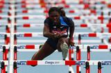 USA's Dawn Harper Nelson in the 100m hurdles (Getty Images)