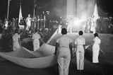 The opening ceremony of the 1936 Olympics (Getty Images)