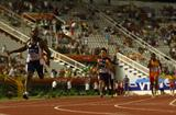 Churandy Martina anchors Team Americas to victory in the men's 4x100m in Split (Getty Images)