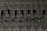 Sprint hurdlers in action (Getty Images)
