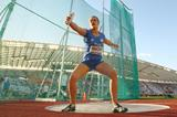Sandra Perkovic in the discus at the IAAF Continental Cup (Getty Images)