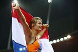 Dafne Schippers after winning the European title (Getty Images)