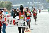 Salina Kosgei takes her third Lisbon Half Marathon win (Marcelino Almeida)