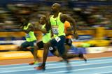 Another 60m victory for Kim Collins (Getty Images)