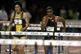 Liu Xiang on his way to 12.92 win in New York (Victah Sailer)