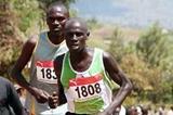 Isaac Kiprop at 2007 Ugandan Road Running Championship (Daniel Senfuma)
