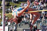 Antonietta Di Martino clears 2.00m in Bergen (Mark Shearman)