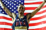 Aries Merritt of the United States celebrates as he wins gold in the Men's 60 Metres Hurdles Final during day three - WIC Istanbul  (Getty Images)