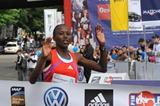 Agnes Kiprop wins 2012 women's race at the Volkswagen Prague Marathon  (organisers)