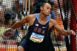 Bryan Clay throws 53.79m, the furthest ever discus throw in Olympic decathlon history (Getty Images)