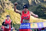 Chris Derrick winning at the 2015 Great Edinburgh XCountry (Getty Images)