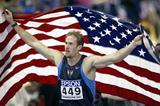 Tom Pappas celebrates winning the men's heptathlon (Getty Images)