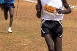 Matthew Kisorio running in Eldoret in the 2009 Discovery XC (David Macharia)