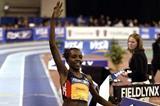 Tirunesh Dibaba runs 14:32.93 World Indoor 5000m record in Boston (Myers/Sailer)
