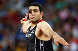 Ihab Abdelrahman in the javelin at the IAAF World Championships, Beijing 2015 (Getty Images)