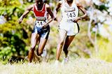 Chepkemei battles with Kirui during the Kenya Prisons (Omulo Okoth)