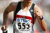 Andreas Erm (GER) strides towards World 50km bronze in Paris (Getty Images)