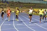 Usain Bolt wins the 2013 Jamaican 100m title in 9.94 (Anthony Foster)