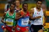 Zersenay Tadese of Eritrea competes in the men's 10,000m final on his way to a silver medal (Getty Images)