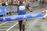 In 2008 - Tadese Tola takes down New York's Central Park 10km record clocking 27:48 (Courtesy of New York Road Runners)