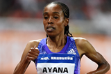 Ethiopian distance runner Almaz Ayana (Errol Anderson)