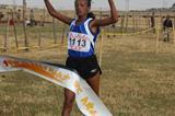 Abebu Gelan collects a big win at the Sululta XC (Elshadai Negash)