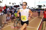 Josh Cox running the 50km in Phoenix, Arizona, USA (ASI Photo)
