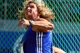 Franka Dietzsch of Germany wins in Stuttgart (Getty Images)