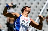 Romain Barras at the European Championships in Barcelona (Getty Images)