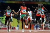 Wilfred Bungei finishes ahead of Ismail Ahmed Ismail and Alfred Kirwa Yego (Getty Images)