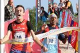 Alex Baldaccini edges Teklay Azerya to win the Smarna Gora mountain run (Organisers)