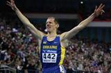 Ivan Heshko of Ukraine wins the men's 1500m final (Getty Images)