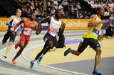 Chris Brown on his way to winning the 400m (Getty Images)