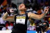 Defending Shot Put champion Valerie Vili of New Zealand has to settle for silver in Doha (Getty Images)