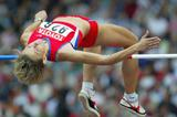 Marina Kuptsova of Russia qualifies for the high jump final (Getty Images)