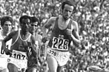 Lasse Viren at the 1972 Olympics (Getty Images)