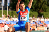 Aleksandr Menkov in action in the long jump at the European Team Championships (Giancarlo Colombo)